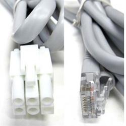 Pre-wired rig interface cable for Kenwood, MFJ-925, MFJ-927, MFJ-928, MFJ-929, a...