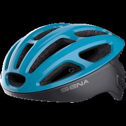 Bluetooth Cycling Helmet (Blue/Large)